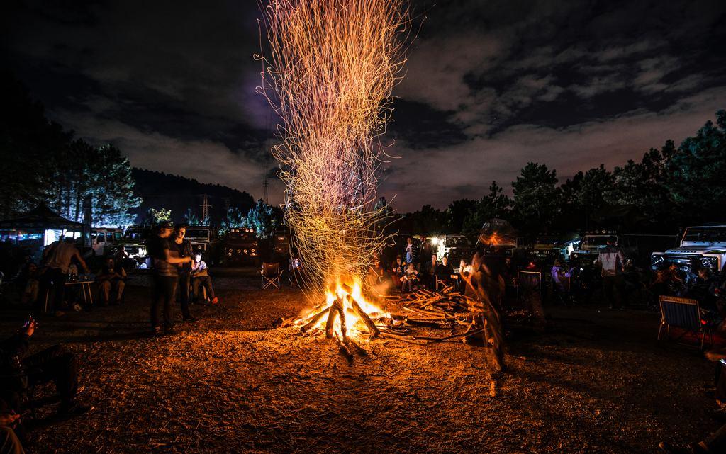 Beneath The Stars Camping Near Boise Idaho - Elk In Idaho