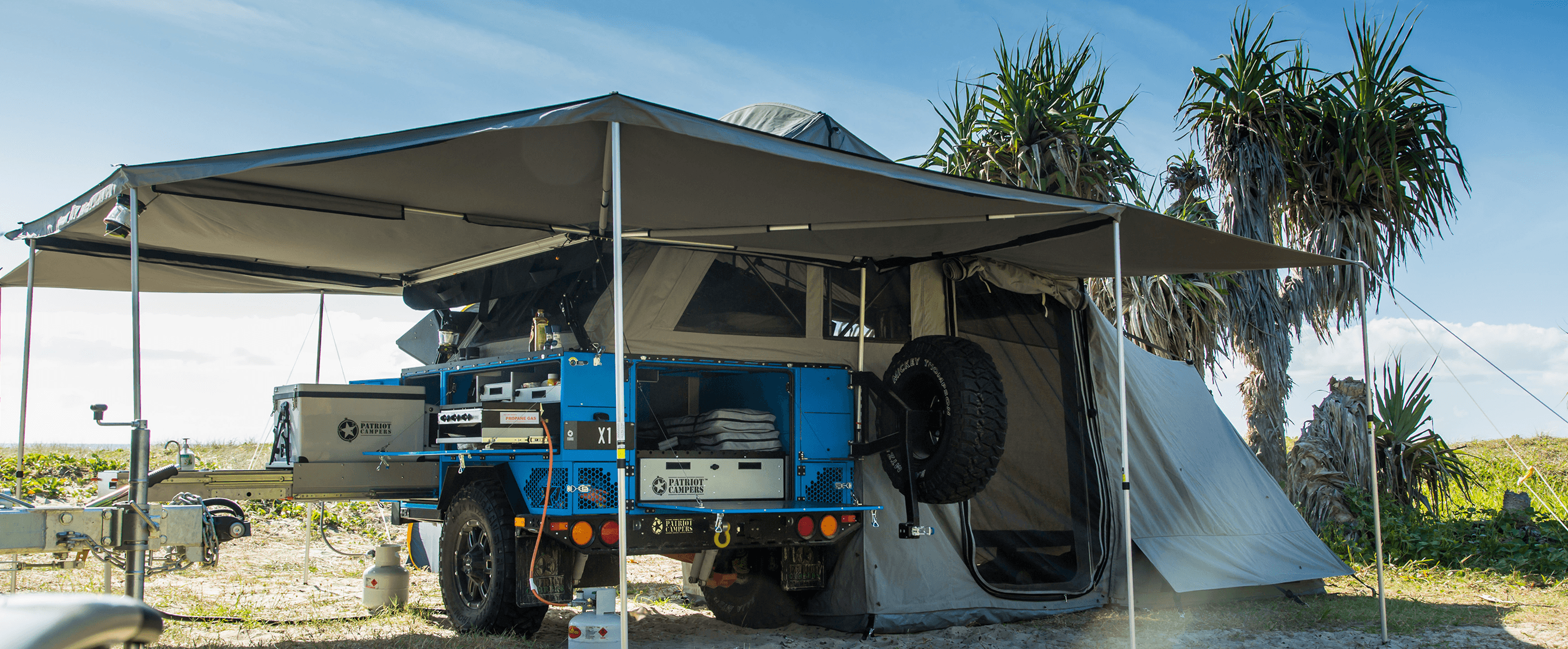 Camping Trailers Adept For Your Off-Road Adventures